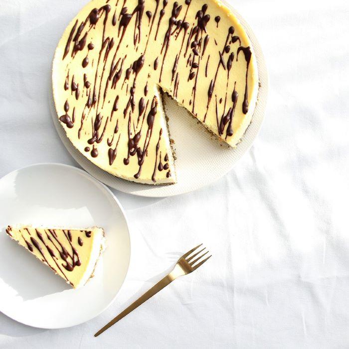 Recette de cheesecake au beurre d'amande