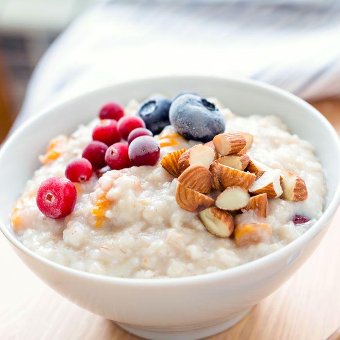 Recette de porridge pour un breakfast à l