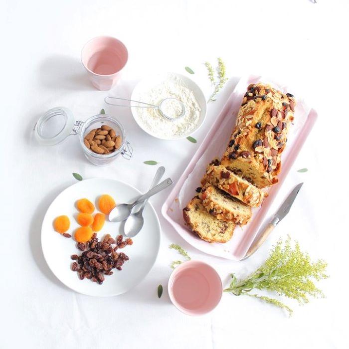 Recette de cake aux épices et fruits secs