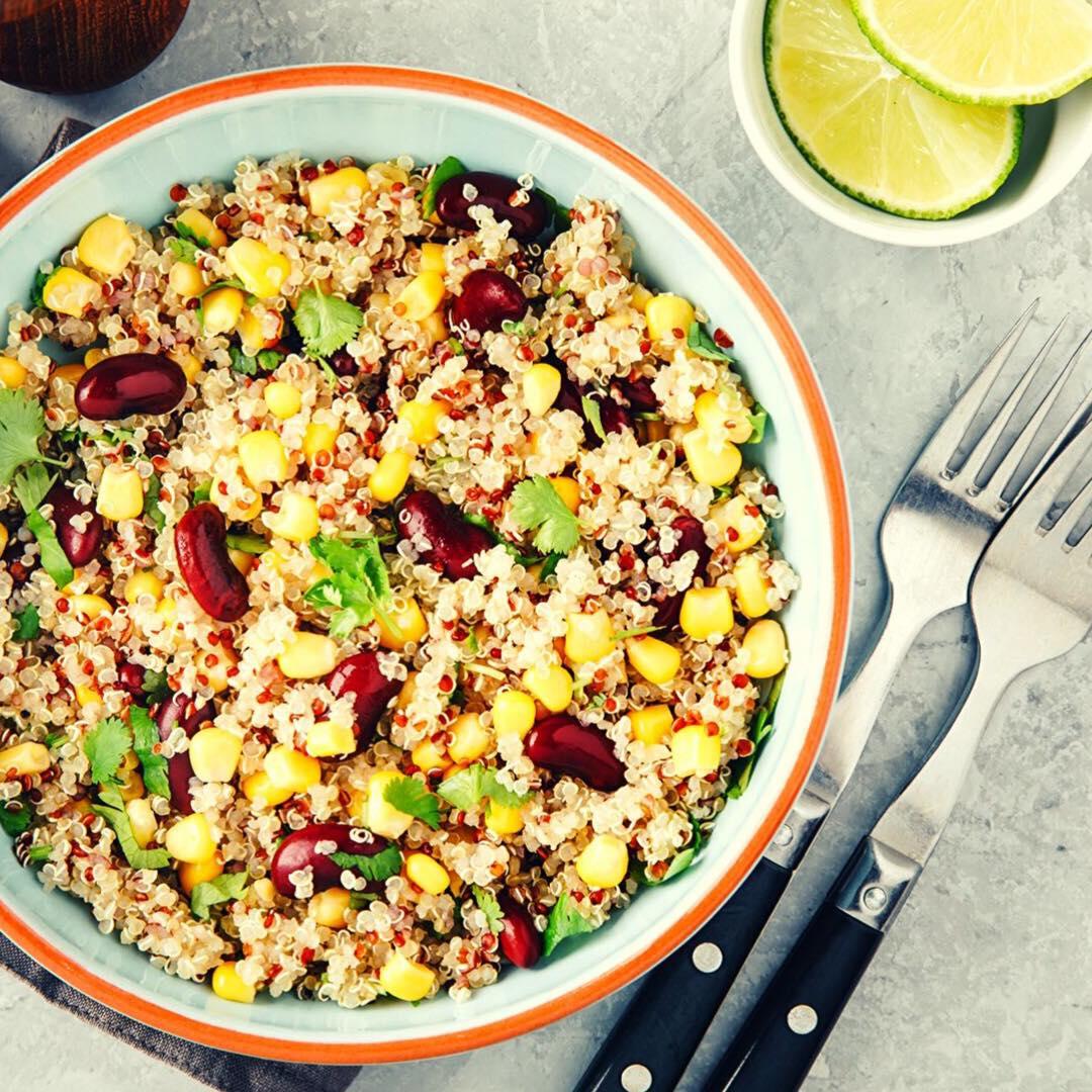 La salade fraîcheur au quinoa et pruneaux !