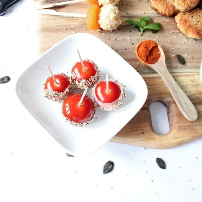 Recette des tomates cerises d\'amour