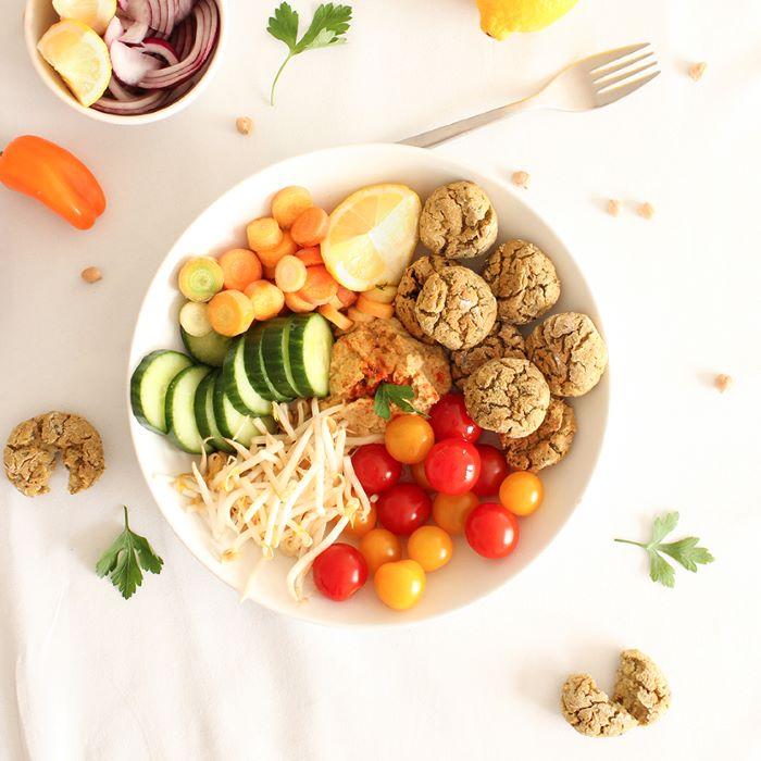 Recette de falafels healthy <br>