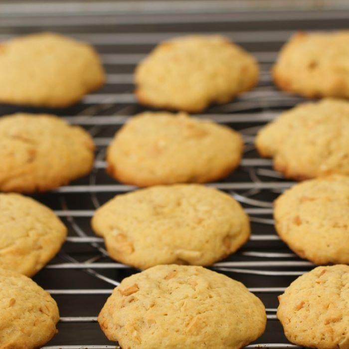 Recette de cookies chocolat blanc et physalis <br>