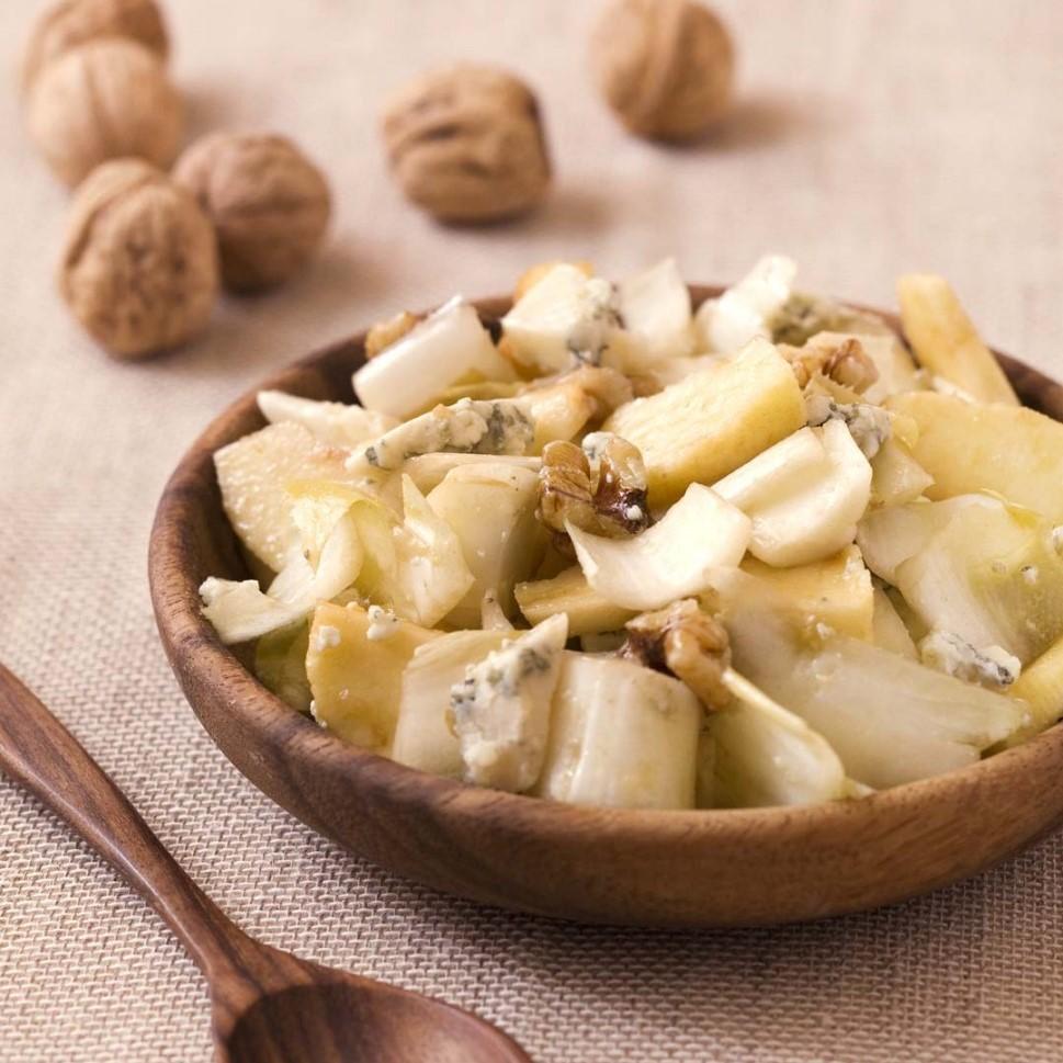 Salade d\'endives aux noix <br>