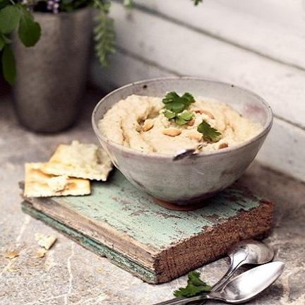 La recette du houmous aux pois chiches et haricots blancs