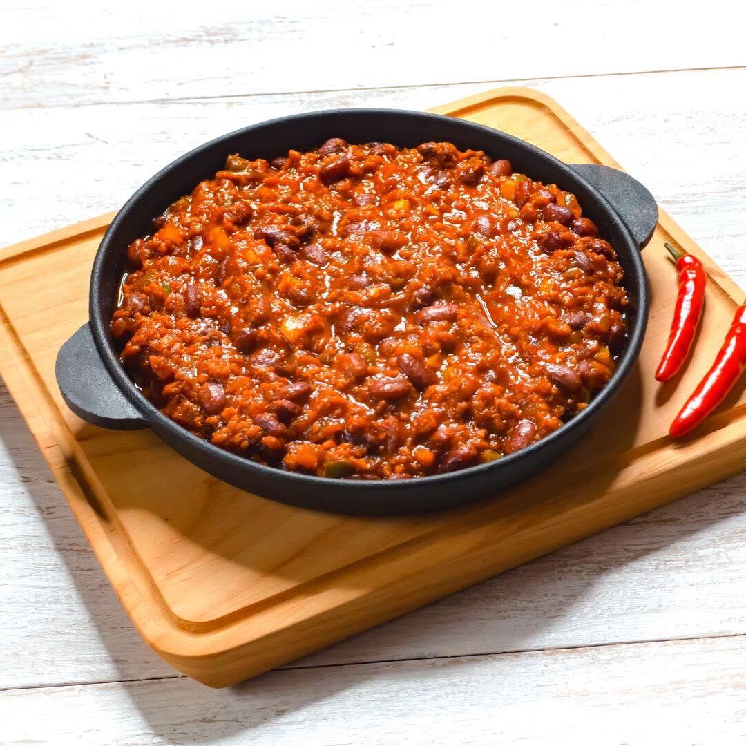 Recette du Chili Sin Carne