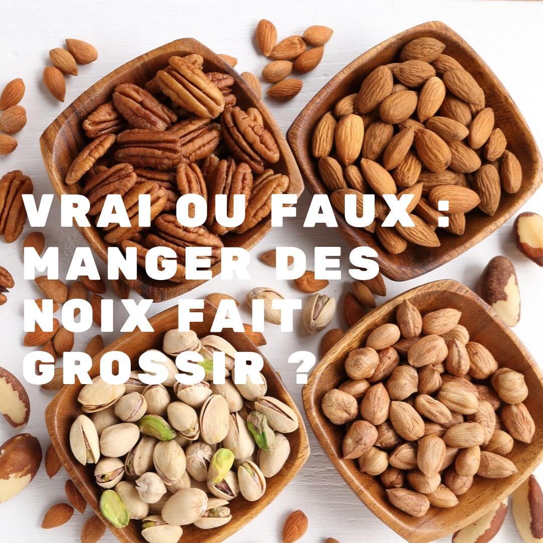 Vrai ou Faux : Manger des noix chaque jour ne fait pas grossir !