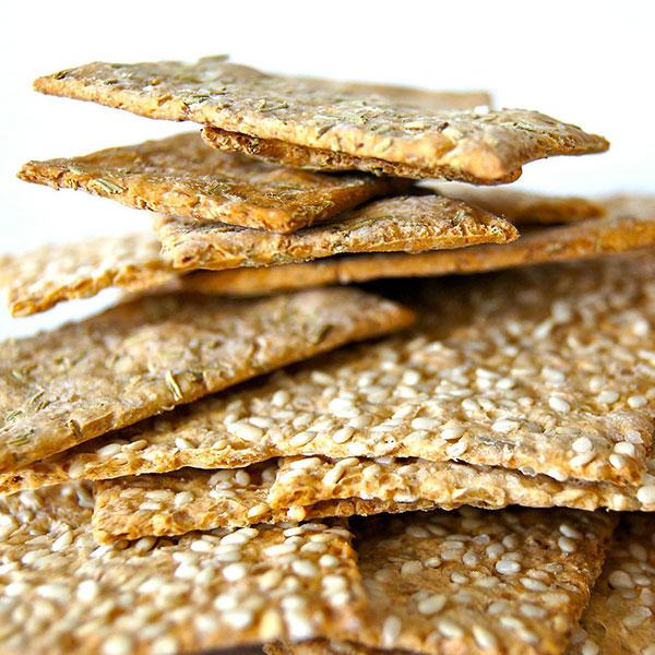 Crackers Sésame - Herbes de Provence
