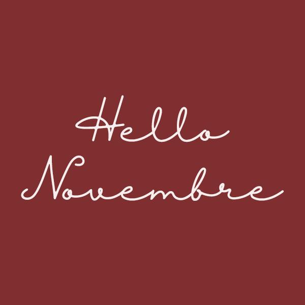 Les fruits et légumes de saison : Novembre