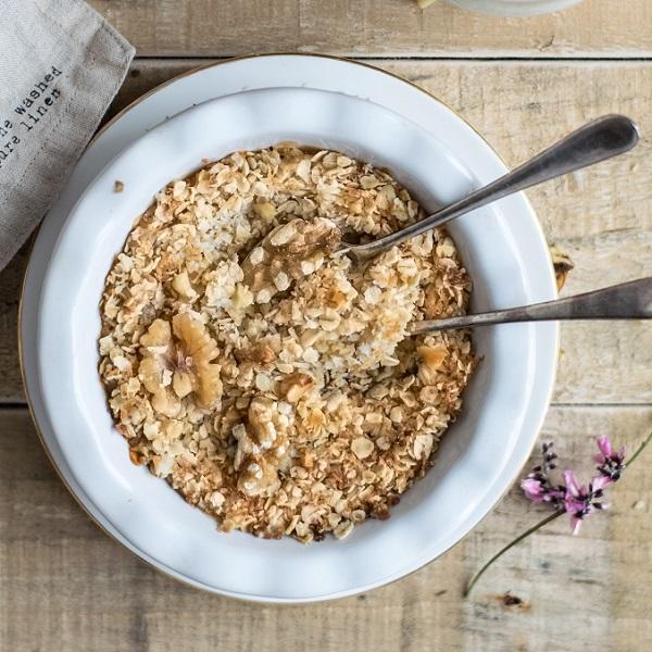 Porridge Pomme - Cannelle