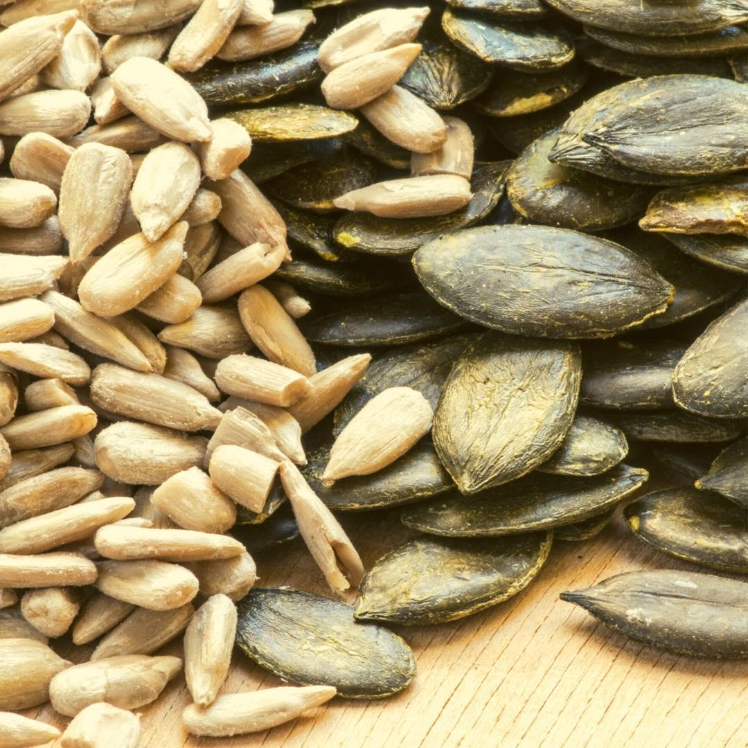 Crumble de graines aux légumes