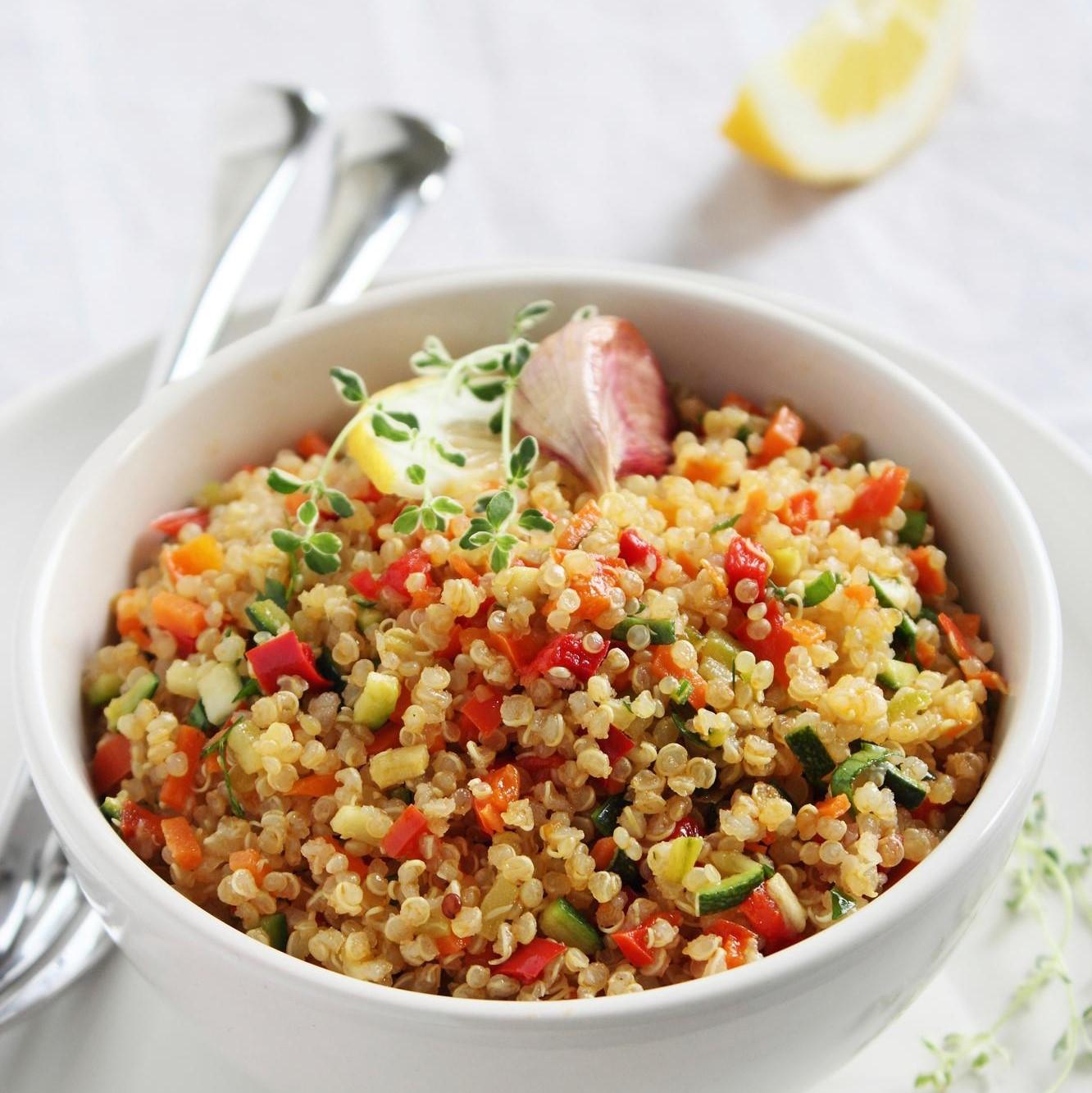 Recette : Salade de Quinoa au citron <br>