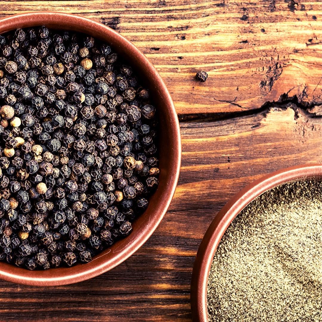 Les bienfaits du poivre noir