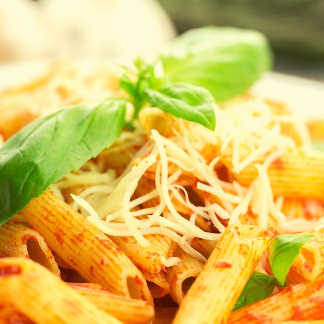Pâtes à la sauce bolognaise végétarienne