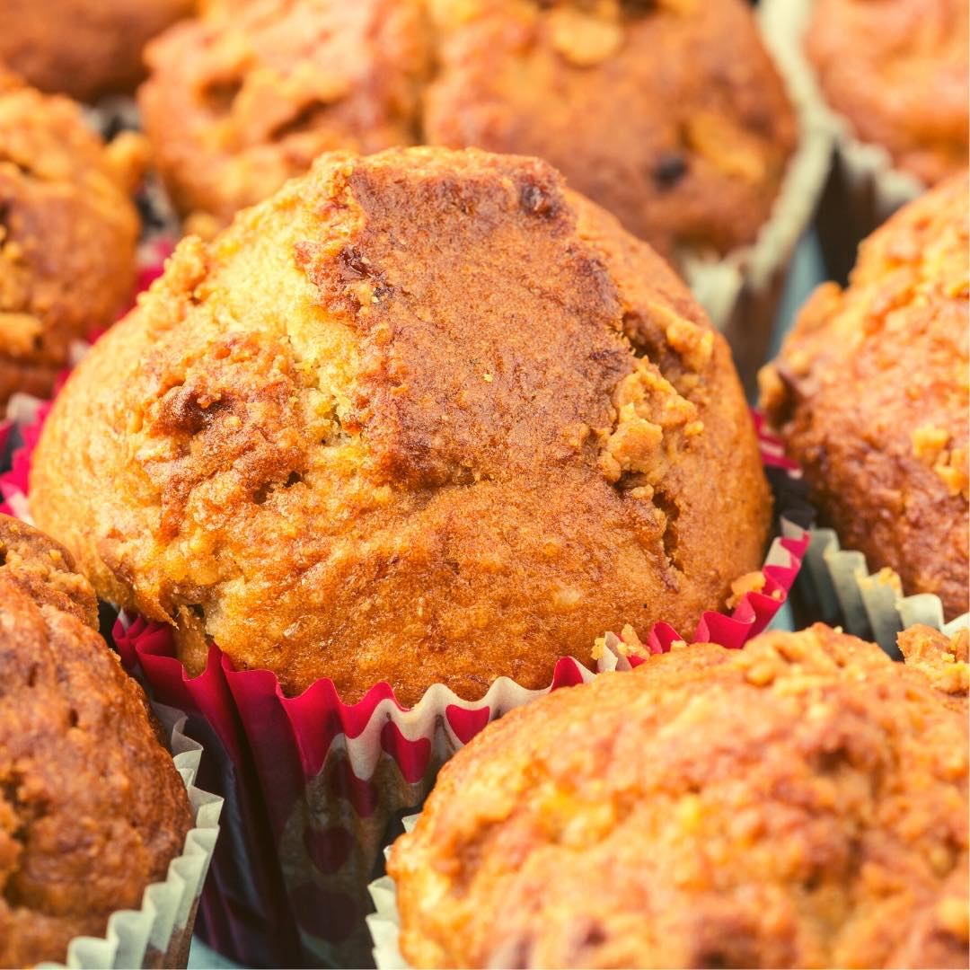 Muffins carotte-noisette