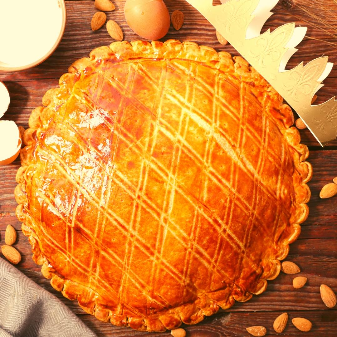 Galette des rois amandes, coco, chocolat !