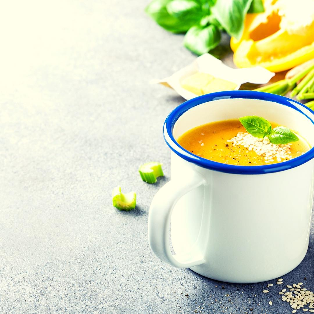 Velouté de carottes au curry