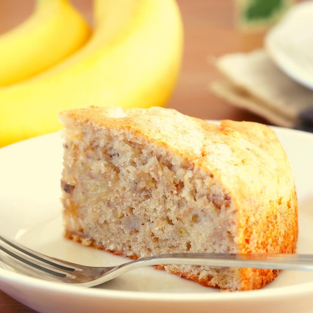 Gâteau à la banane et à la coco