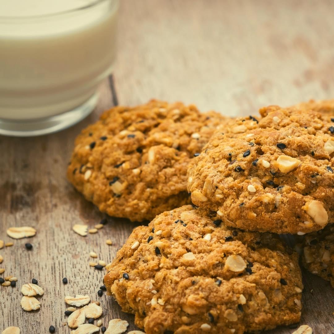 Biscuits aux graines et aux céréales