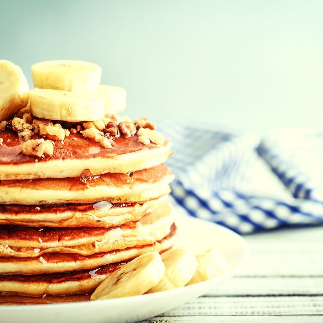 Pancakes Pomme Quinoa
