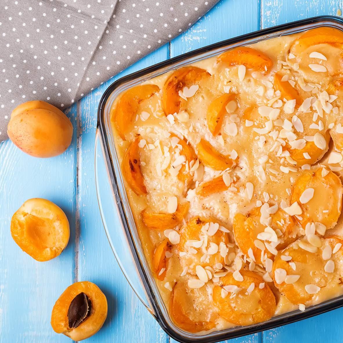 Recette - Clafoutis aux abricots secs <br>