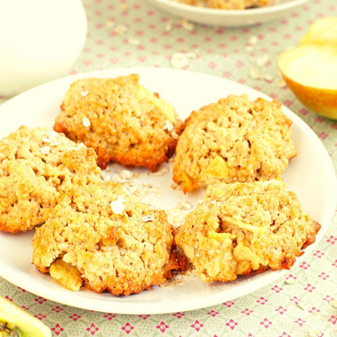 Cookies aux flocons d\'avoine bio