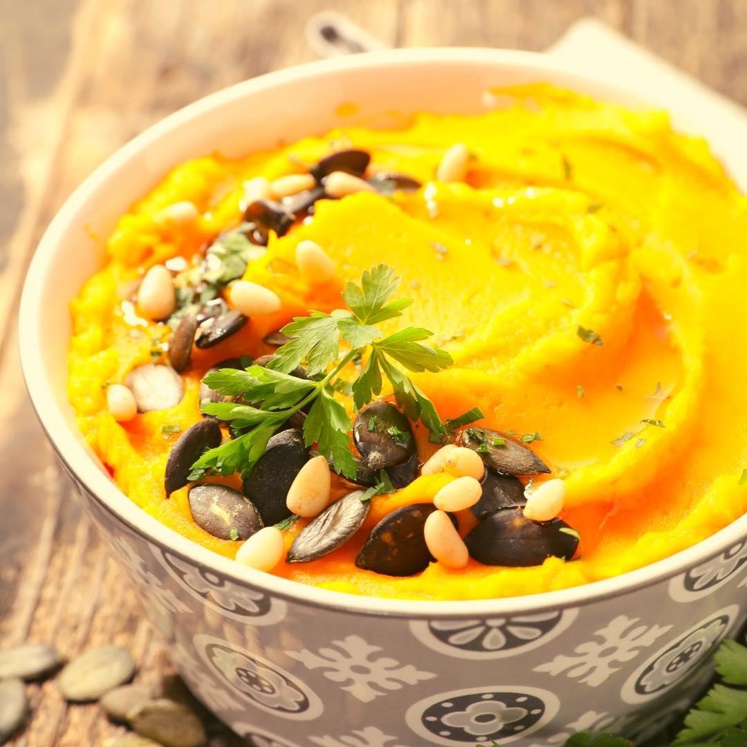 Purée de carottes aux noix de cajou bio