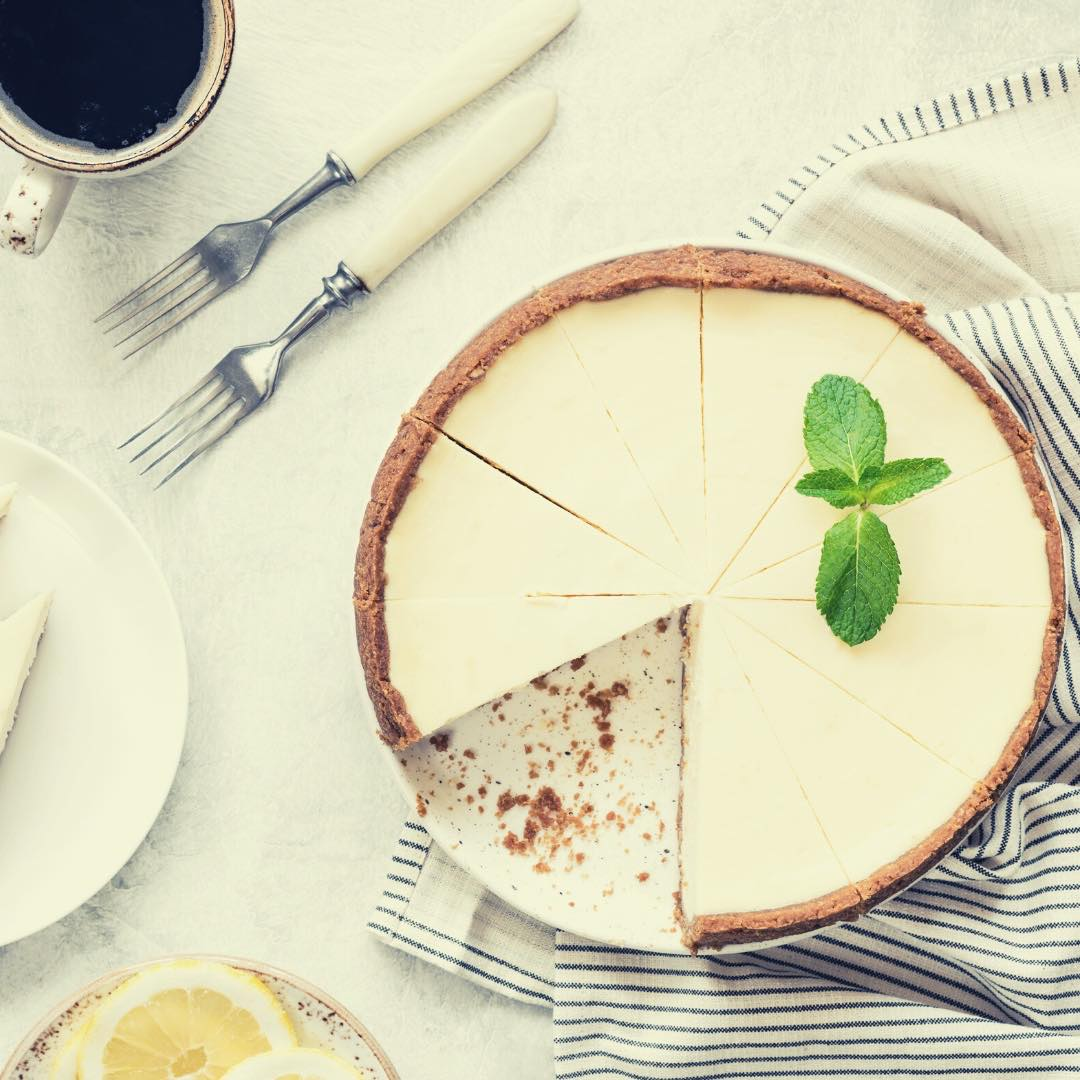 Cheesecakes au citron vert, graines et fruits secs bio