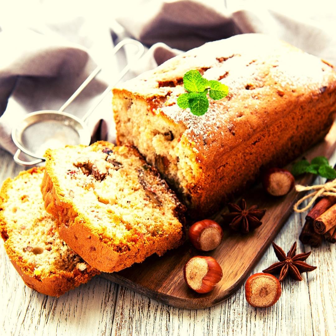 Cake salé aux abricots secs bio et noix bio