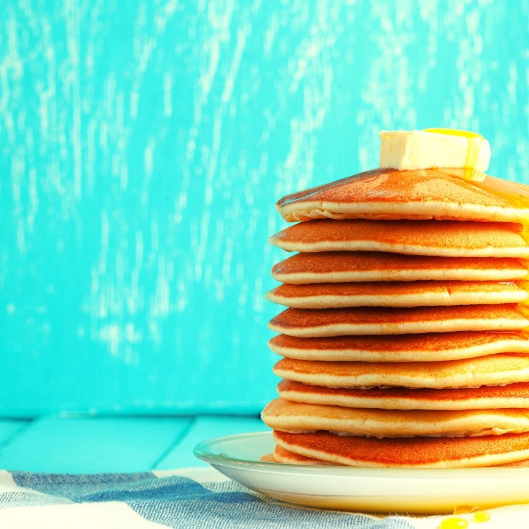 Pancakes au petit épeautre et au lait d\'amande bio