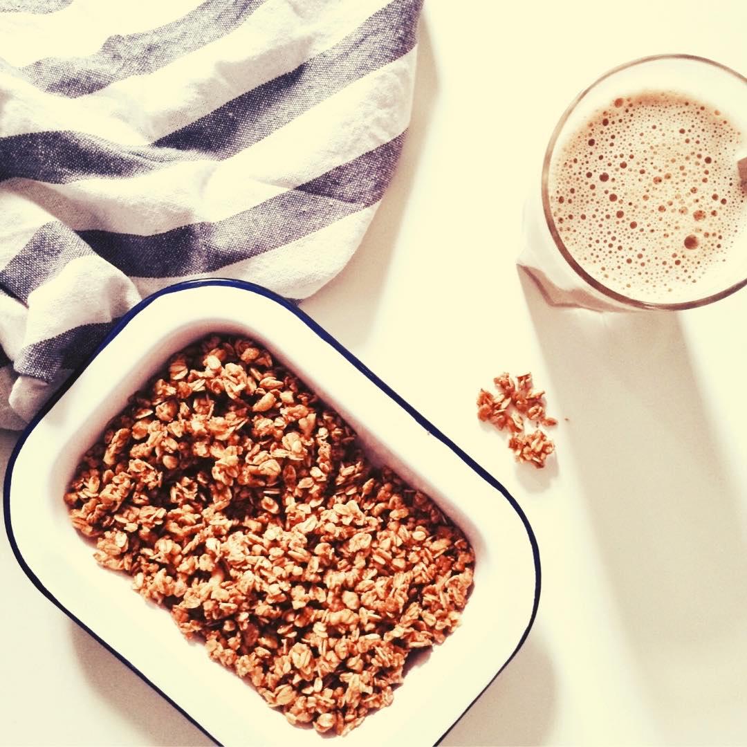 Barres de céréales aux raisins secs et flocons d\'avoine bio