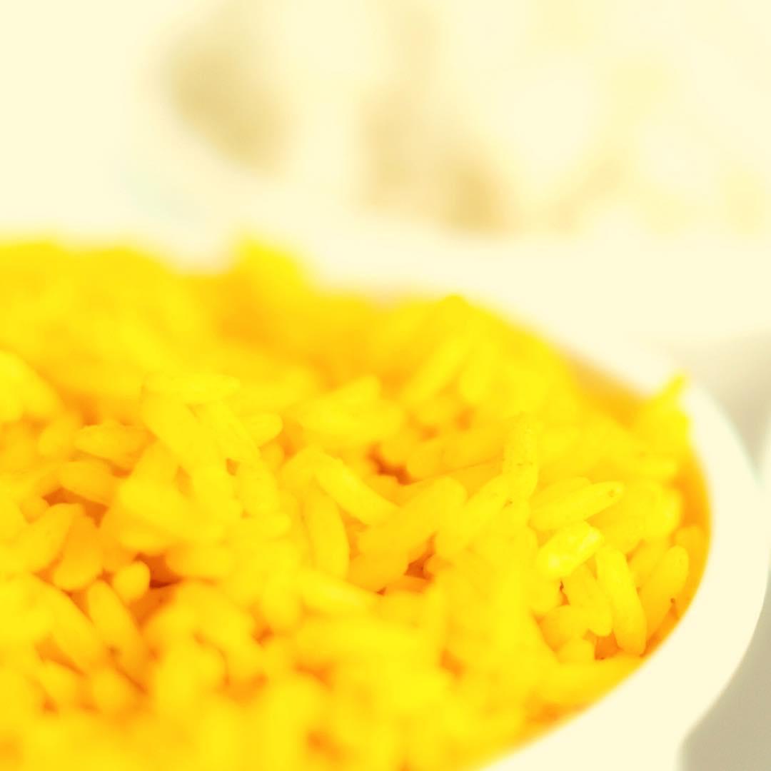 Riz au safran et noix bio