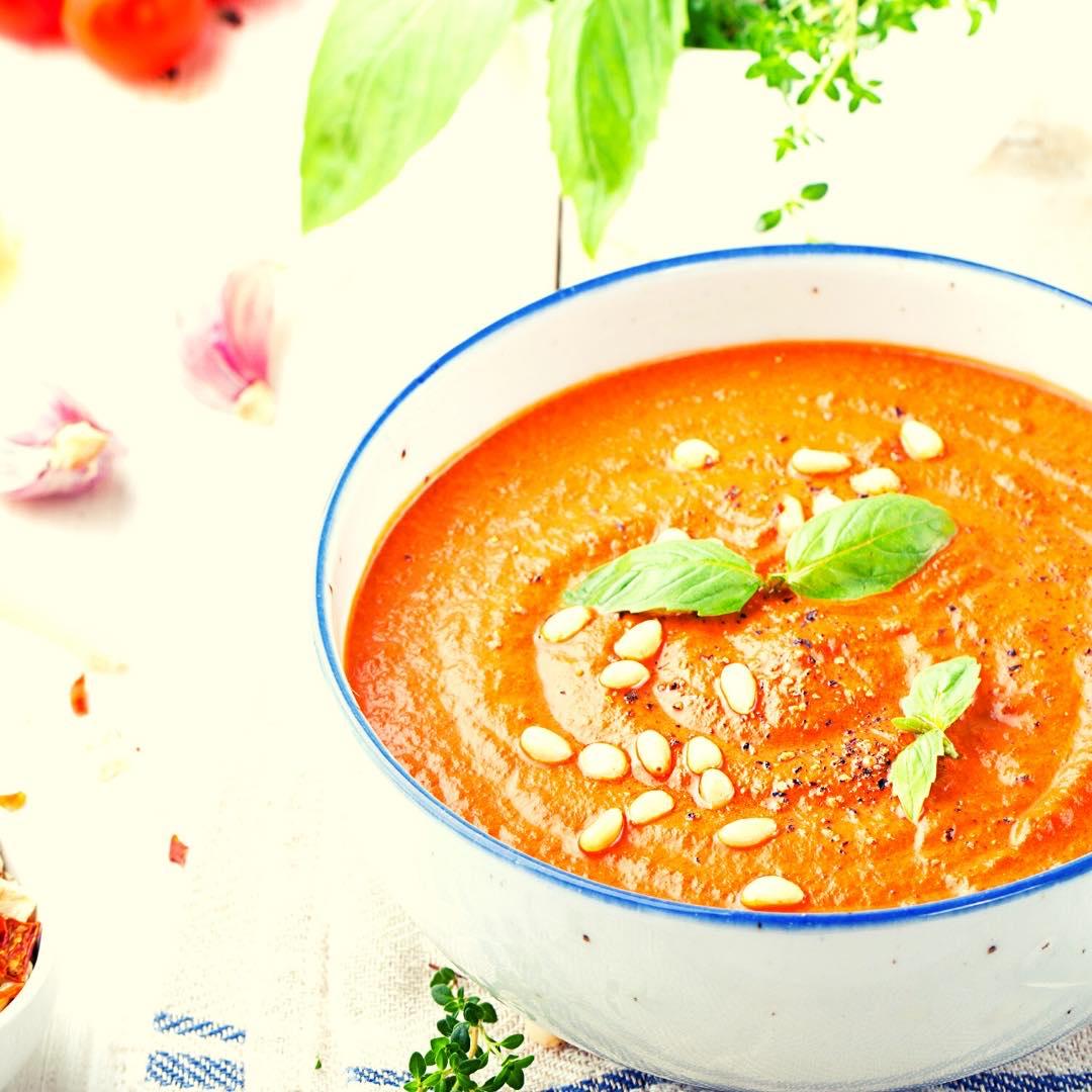Gaspacho aux tomates séchées bio