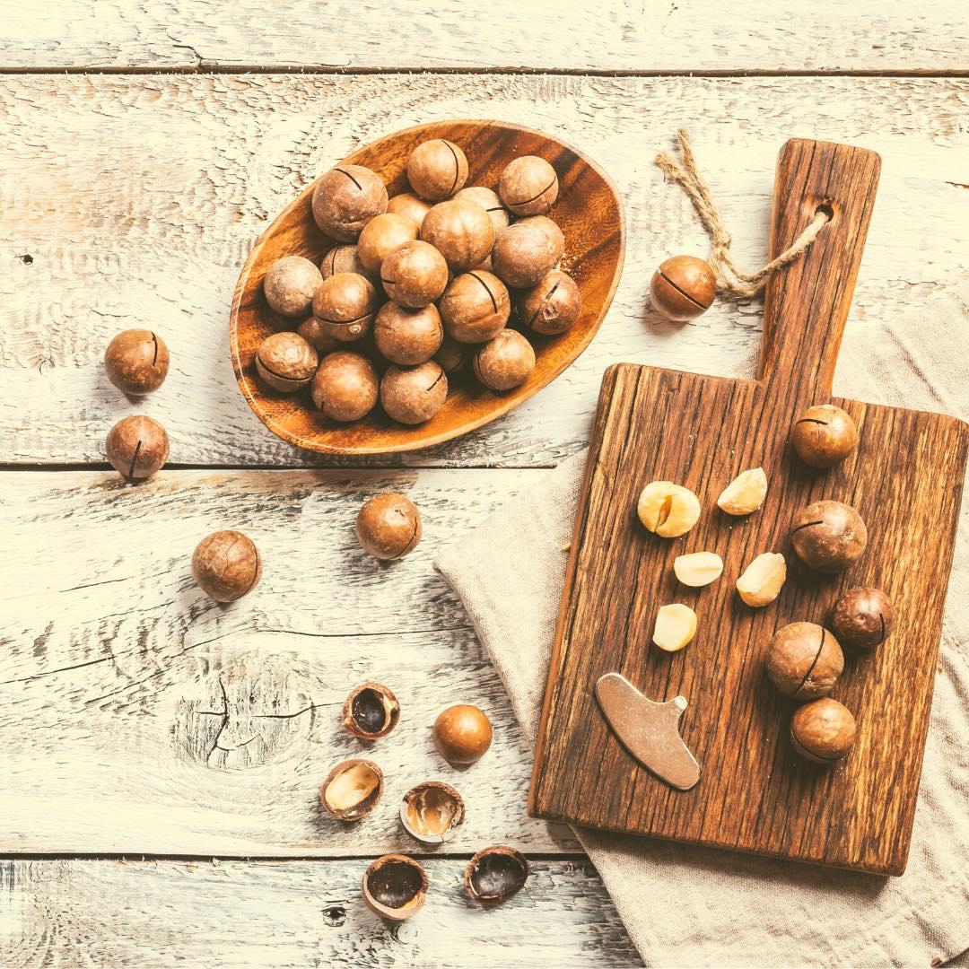 Praliné aux noix de macadamia bio