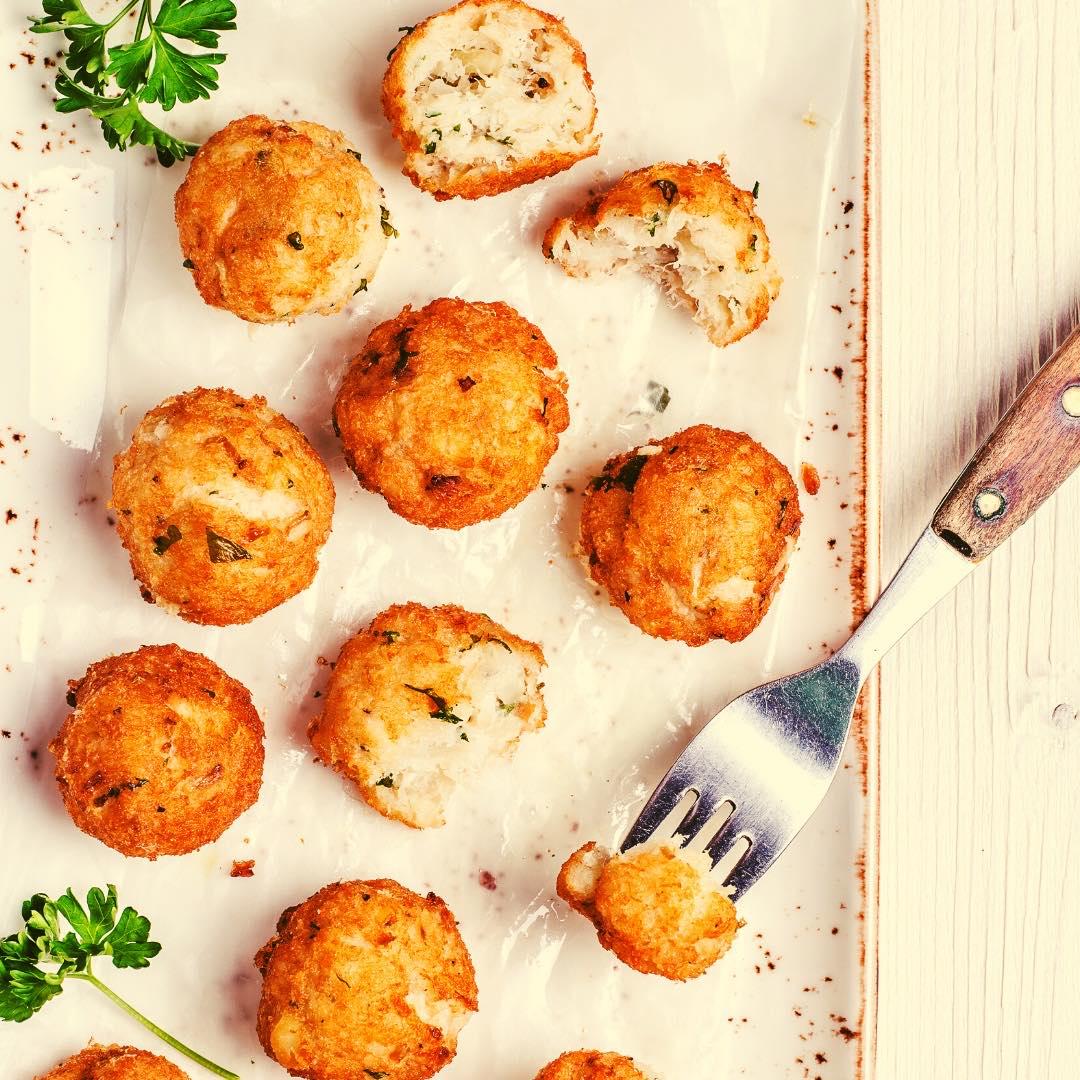 Croquettes de carottes et pois chiches bio