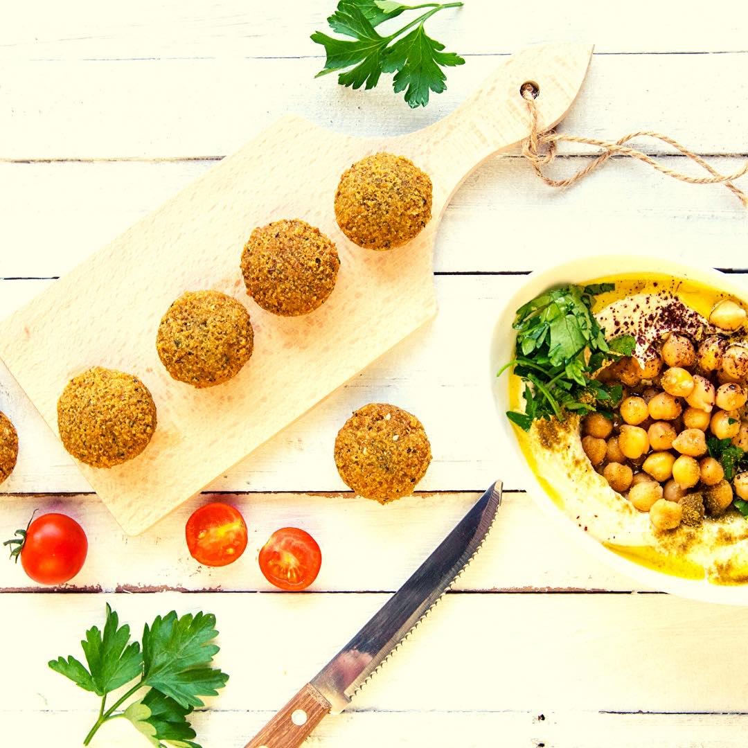 Falafel aux pois-chiche bio et brocolis