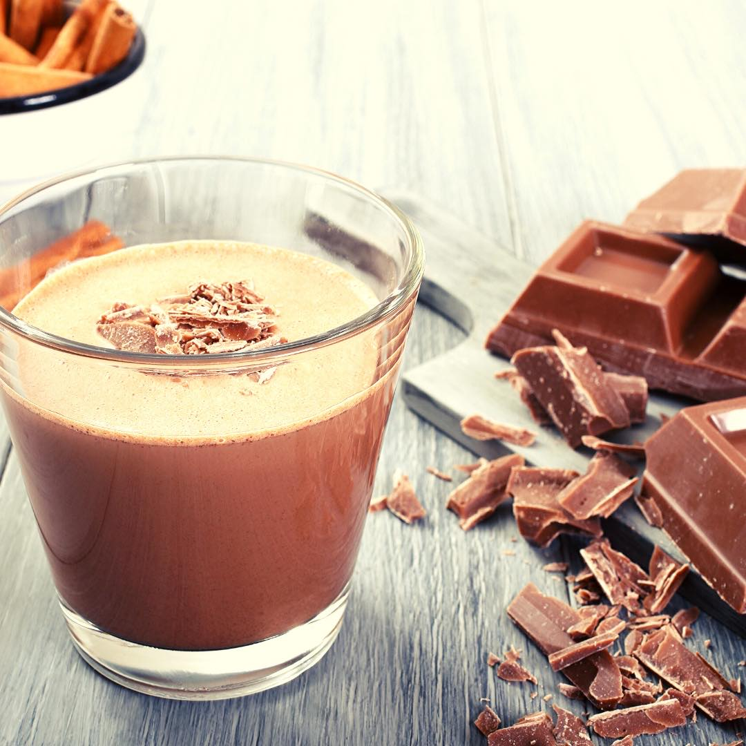 Flan au lait chocolaté et chocolat blanc facile