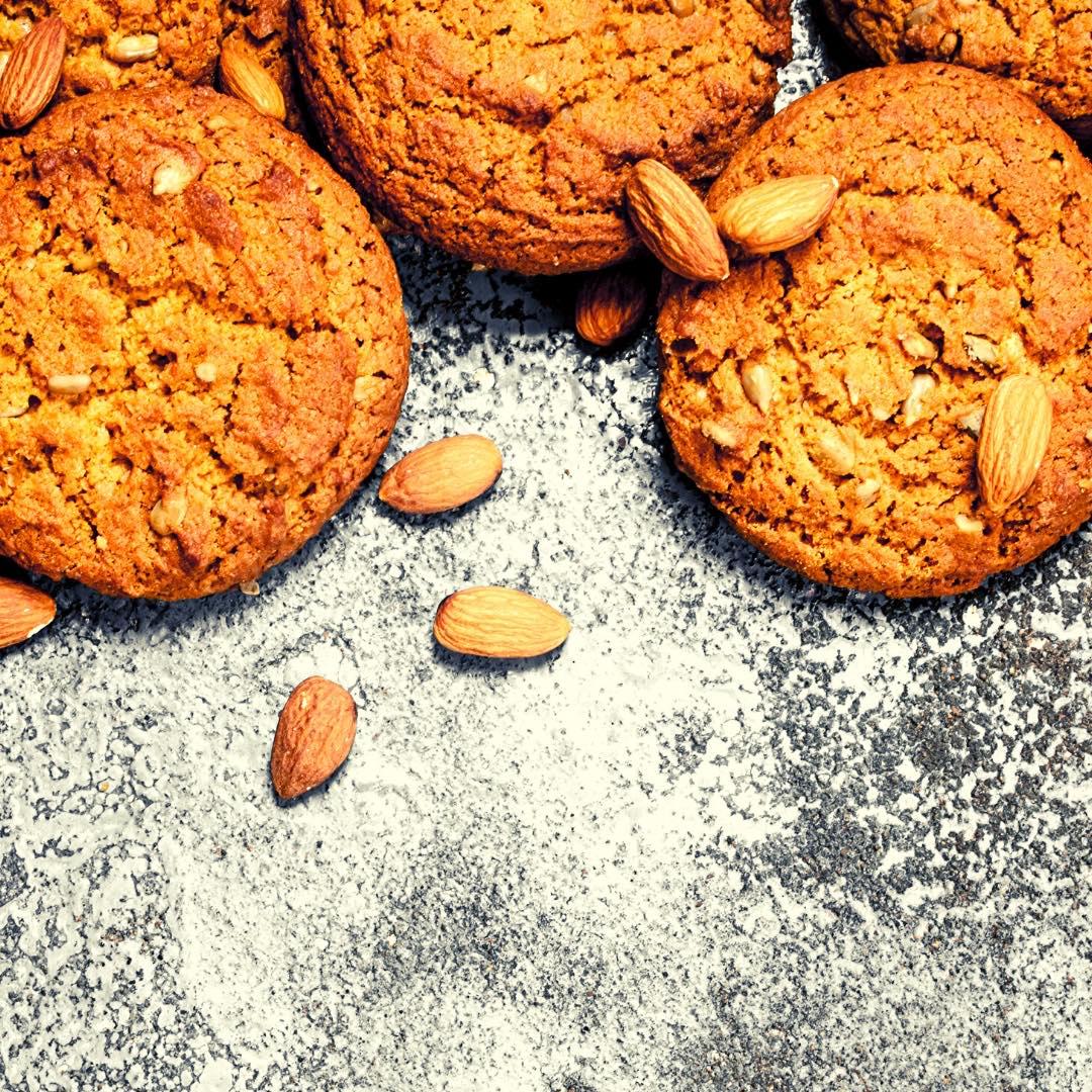 Cookies à la purée d\'amandes bio