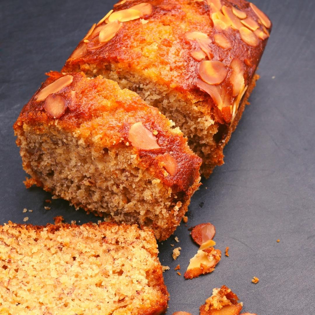 Gâteau rustique aux amandes et noisettes bio