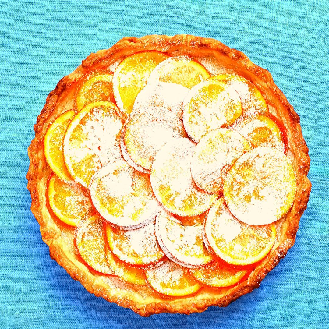 Tarte à l\'orange – pistache bio