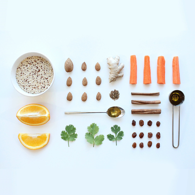 La salade marocaine au quinoa <br>