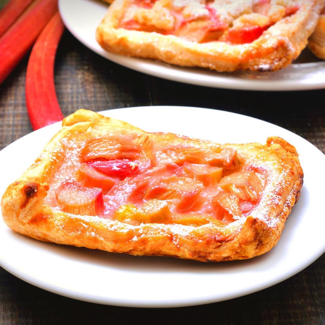 Tarte pomme rhubarbe facile à faire