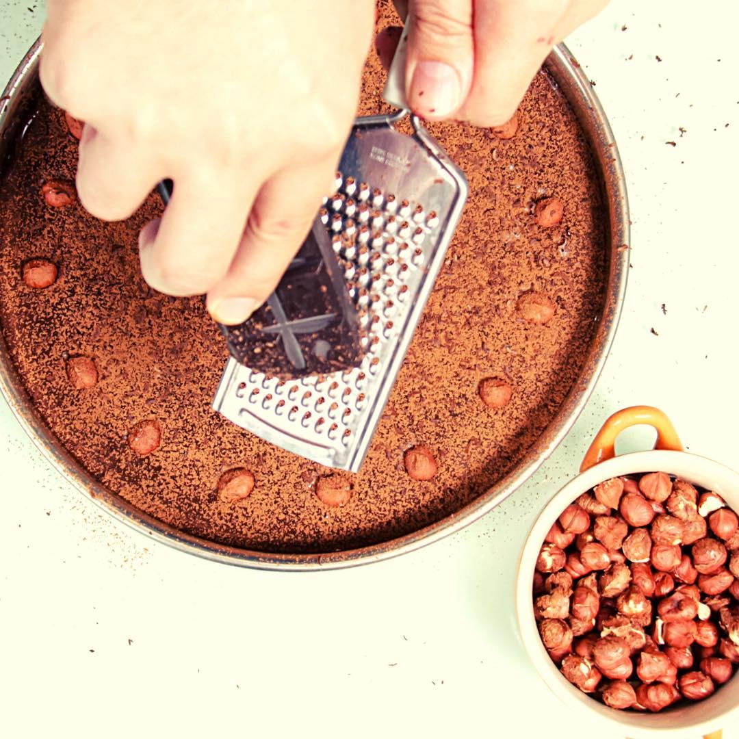 Gâteau à la noisette sans gluten