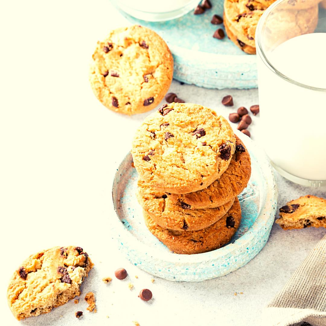 Cookies coeur caramel
