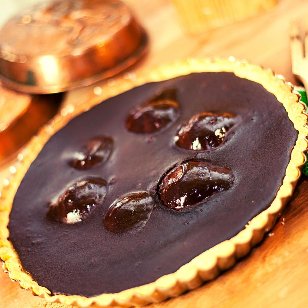 Tarte poire chocolat bio
