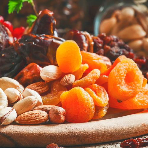 Salade de crudités & fruits secs Bio